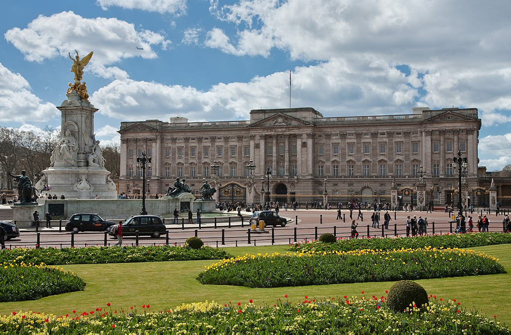 El palacio de Buckingham está construido con fósiles
