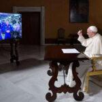 El papa Francisco realizó una videollamada a la Estación Espacial Internacional