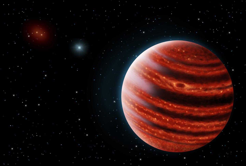 El planeta con menos masa detectado con un telescopio