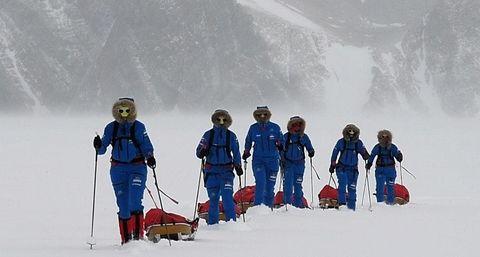 Las Doncellas de Hielo, la primera expedición 100% femenina a la Antártida