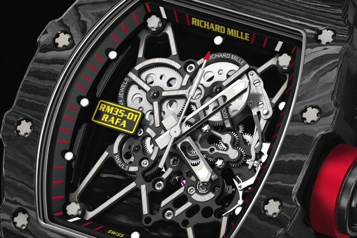 Rafa Nadal estrena el reloj más ligero del mundo