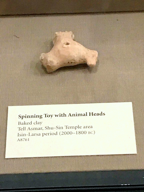 El spinner, ¿fue un invento de la civilización mesopotámica?