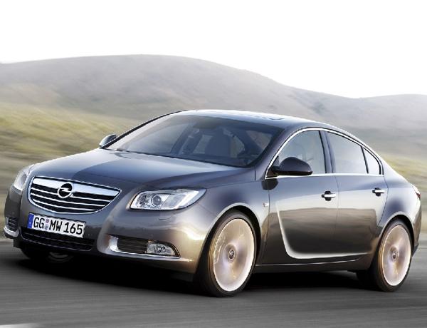 El Opel Insignia, a punto