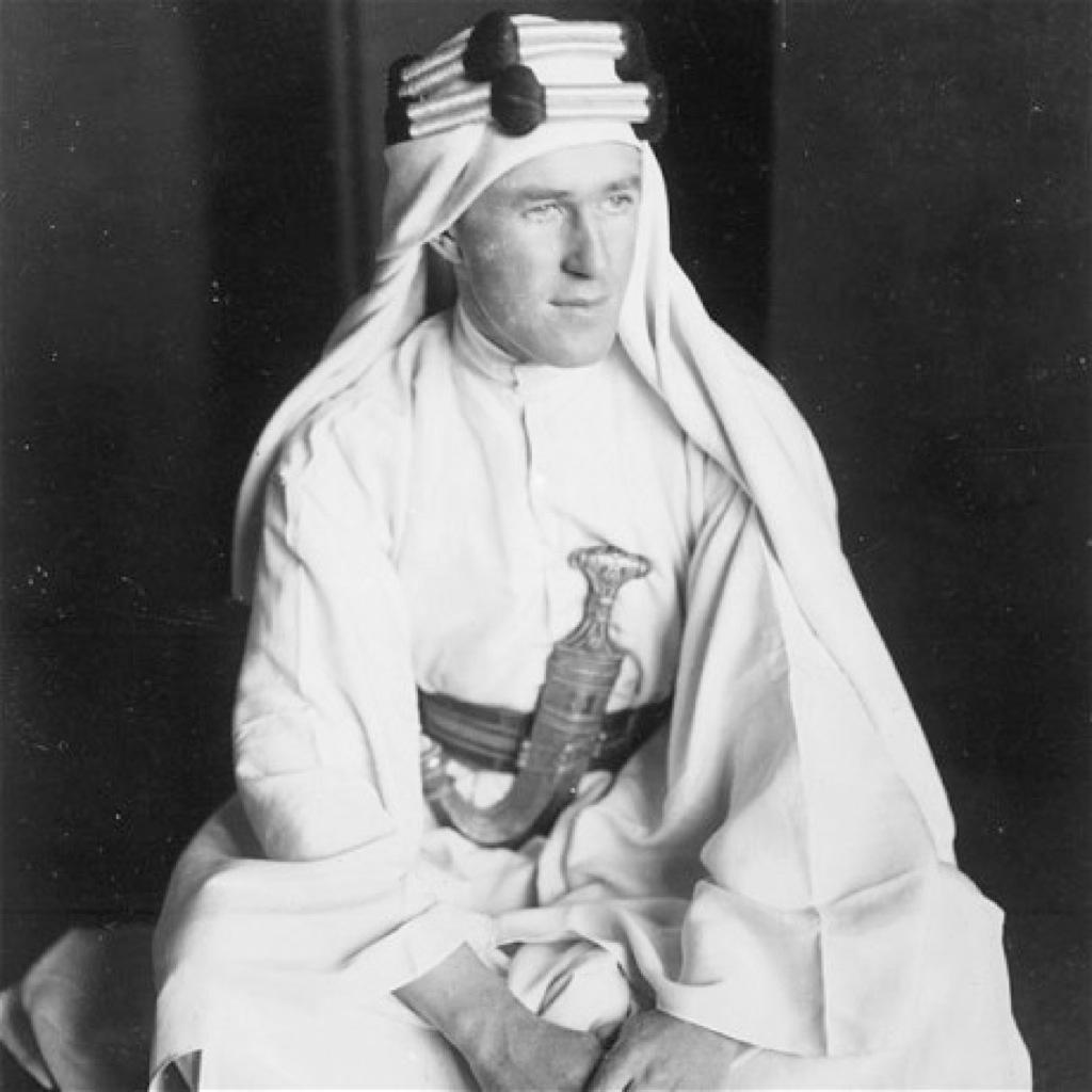 Encuentran fotos nunca vistas de Lawrence de Arabia