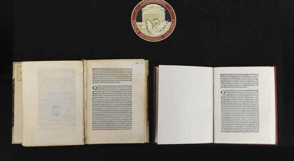 Encuentran la carta en la que Colón anuncia el descubrimiento de América… en América