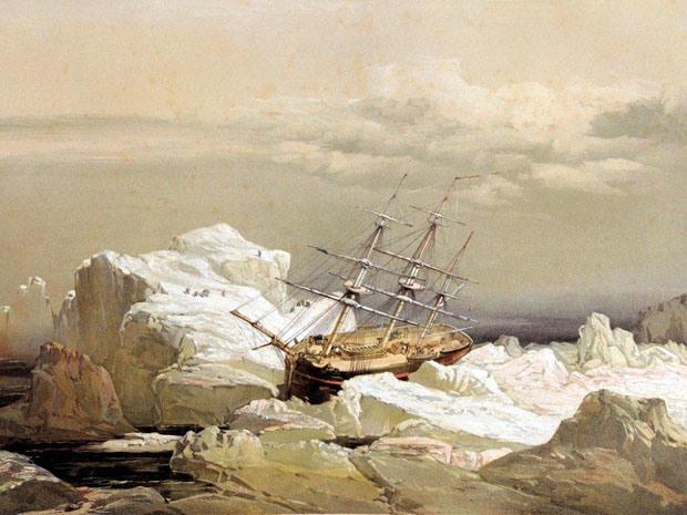 Encuentran los restos de una mítica expedición perdida en el Ártico