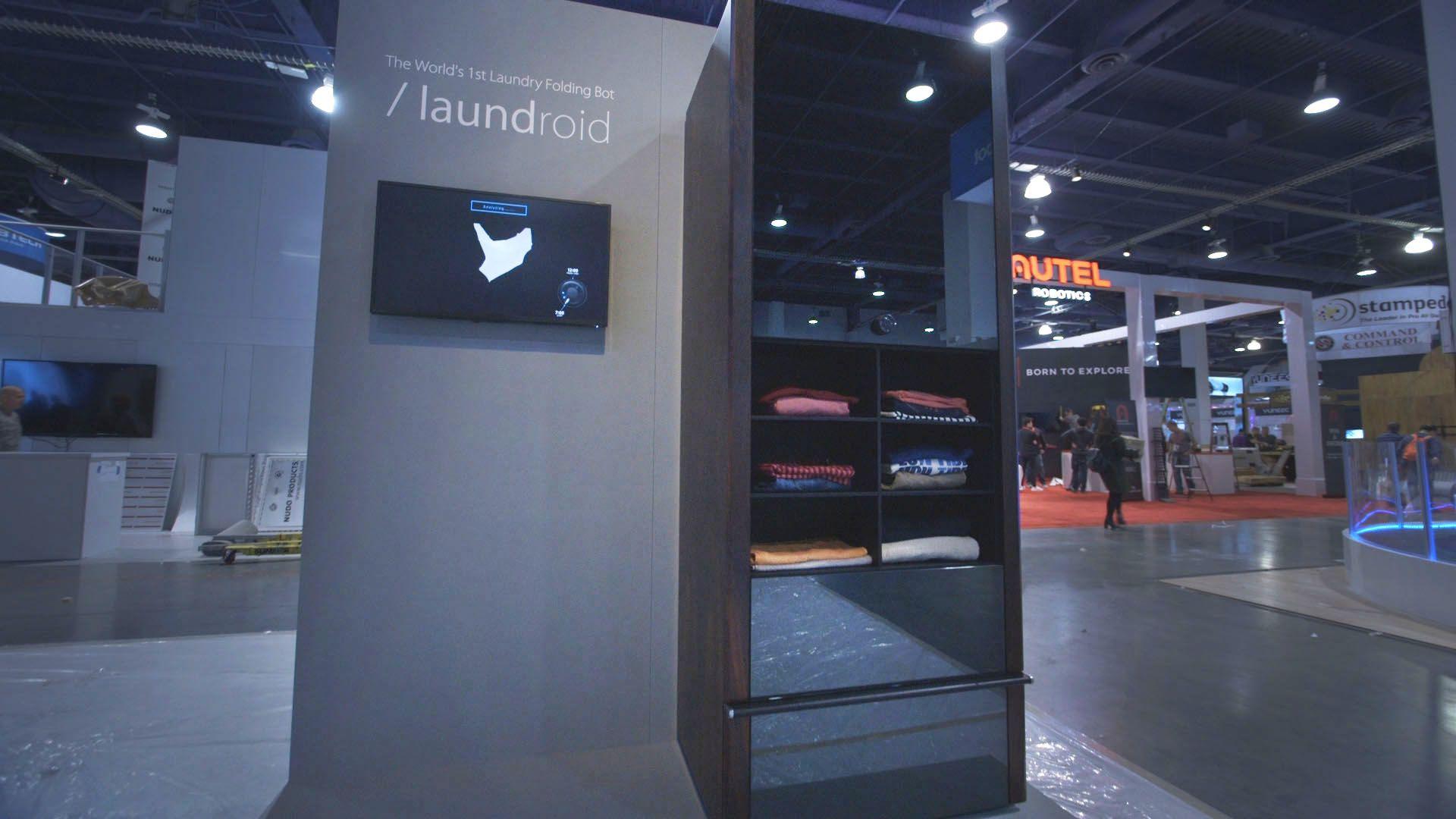 Esta máquina dobla la ropa por ti por tan solo 13.000€