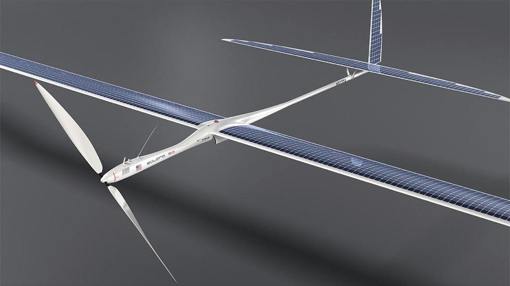 Este dron solar puede volar cinco años sin parar