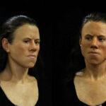 Este es el rostro de una chica que vivió hace 9.000 años