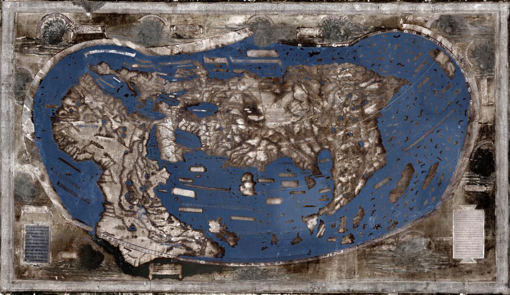 Este mapa inspiró a Cristobal Colón