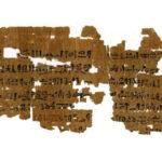 Este papiro egipcio contiene el test de embarazo más antiguo conocido