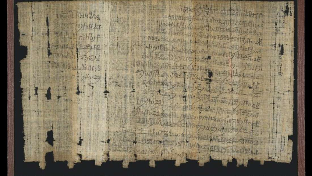 Este papiro podría contener el primer caso conocido de acoso sexual