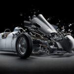 Fantásticas fotos de coches desintegrándose
