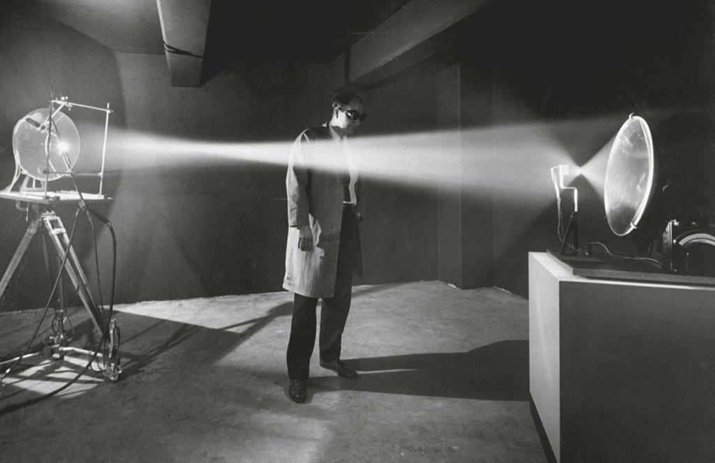 Fotos antiguas de experimentos científicos