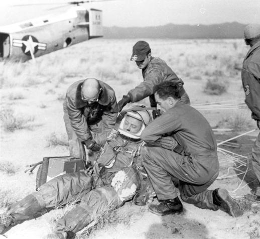 ¿Fue Joe Kittinger el primer astronauta?