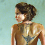 La piel de Angelina Jolie