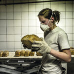 Gluten: Pan de algarrobo