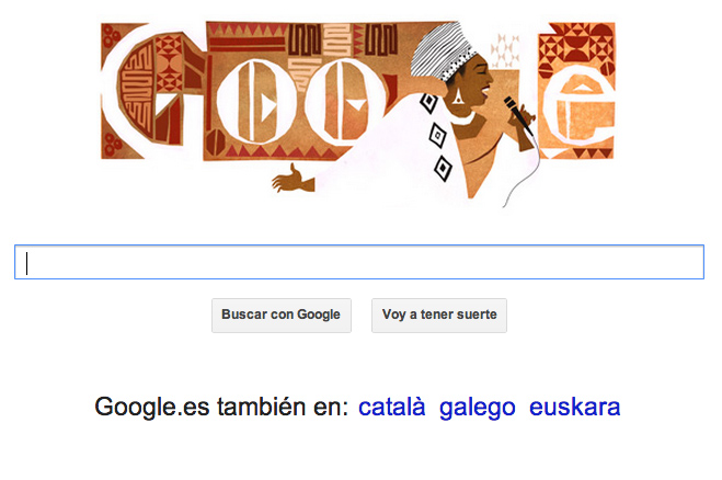Google con Miriam Makeba