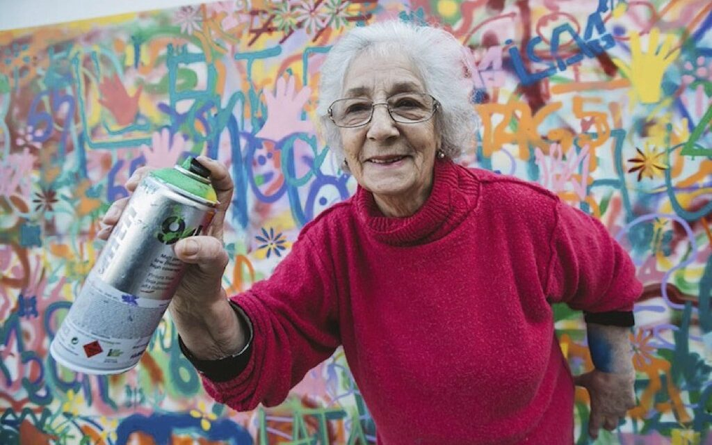 Grafiteros de la tercera edad