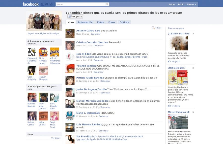 Grupos divertidos de Facebook