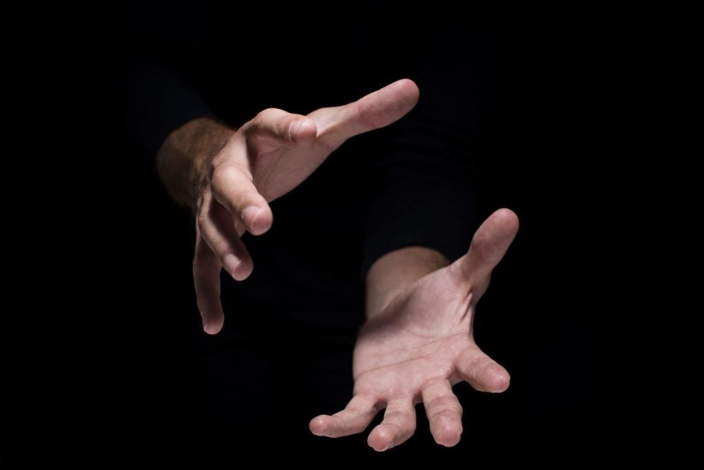 Hacen desaparecer un objeto invisible