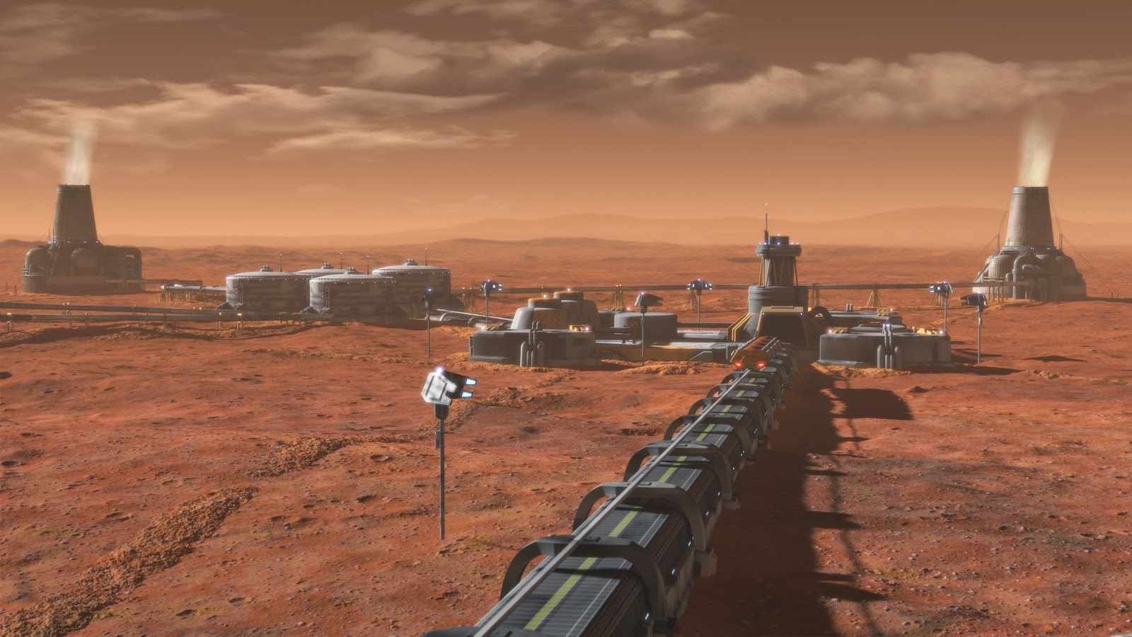 Hacer Marte habitable…con bombas nucleares