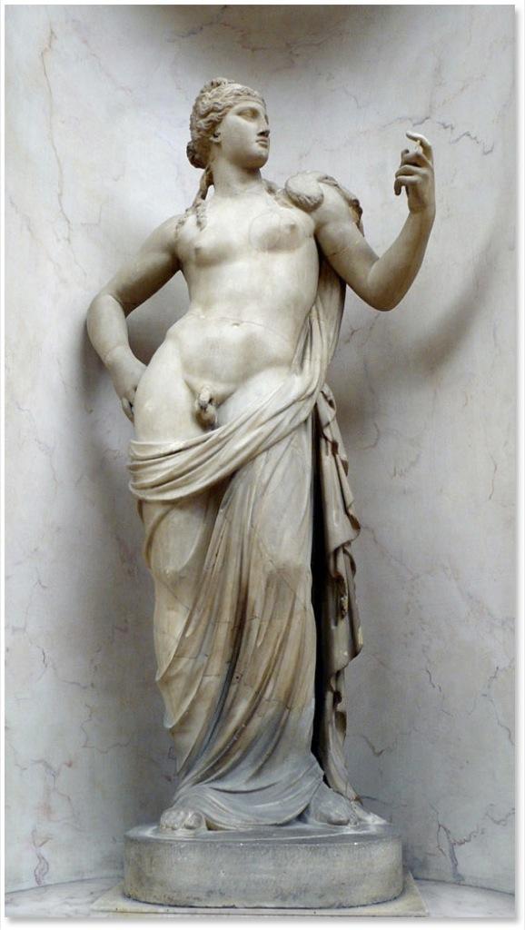 Hermafrodita, el culmen sexual romano