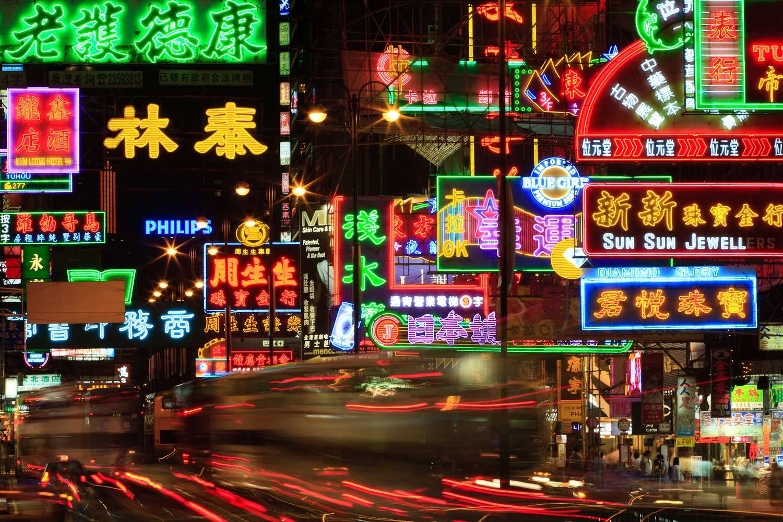 Hong Kong se queda sin neones