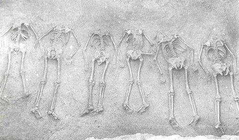 Encuentran en Mongolia numerosos restos de sacrificios humanos
