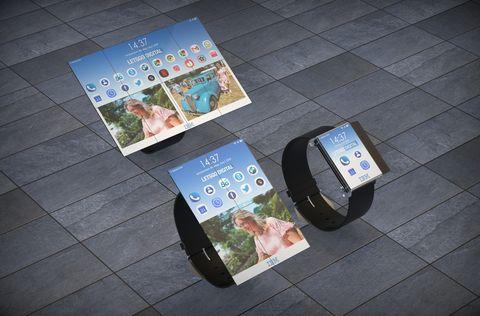 IBM patenta un smartwatch con pantalla desplegable