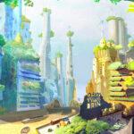 Ilustraciones futuristas para imaginar la Tierra del año 2100