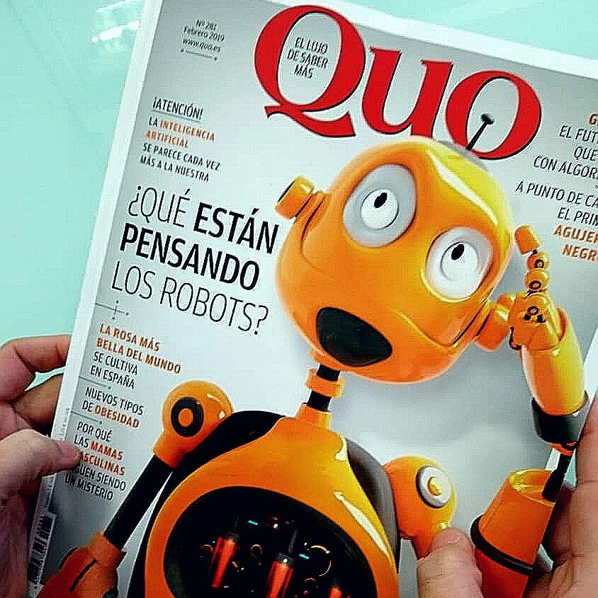 QUO febrero: ¿Qué piensan los robots? La Inteligencia Artificial, cada vez más parecida a nosotros