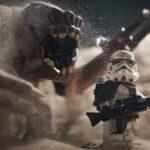 Impresionantes imágenes de Star Wars recreadas con LEGO