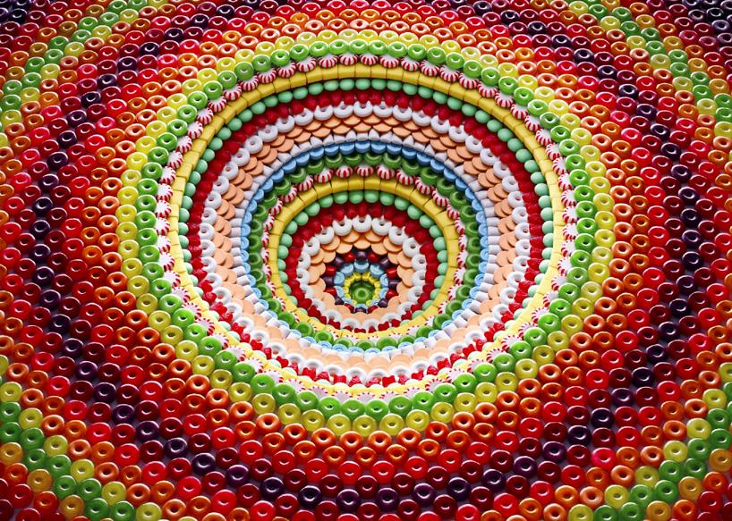Increíbles estructuras hechas con dulces