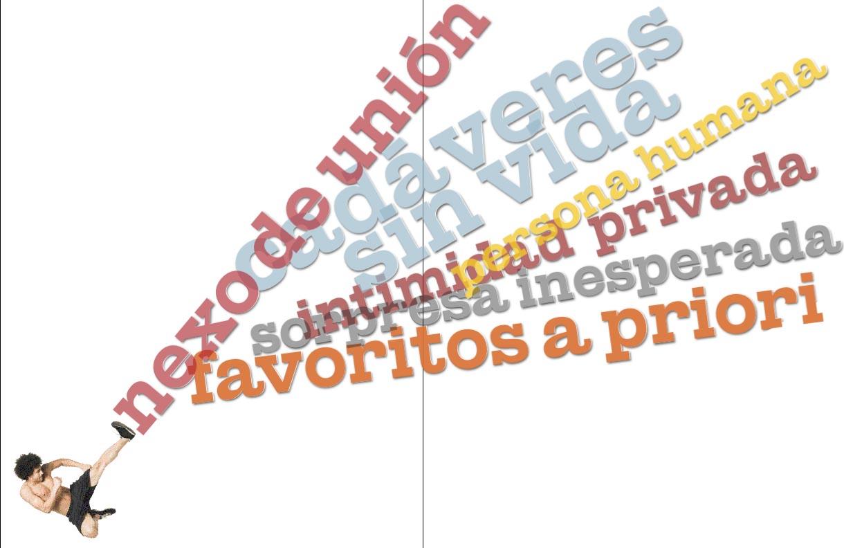 Patadas al español