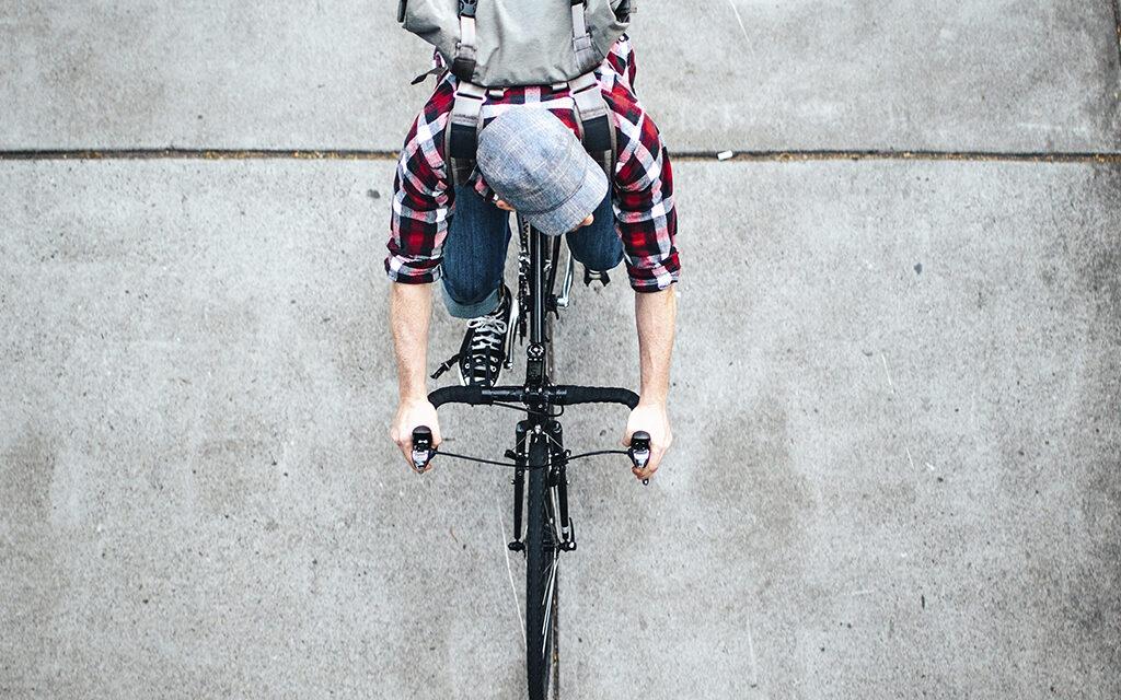 Ir pedaleando al trabajo