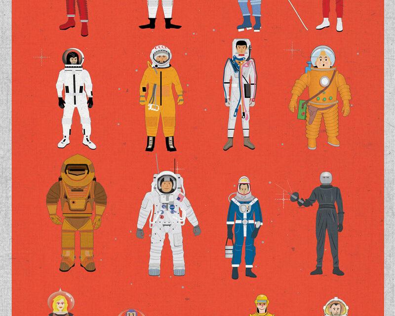 La ciencia ficción resumida en 4 posters