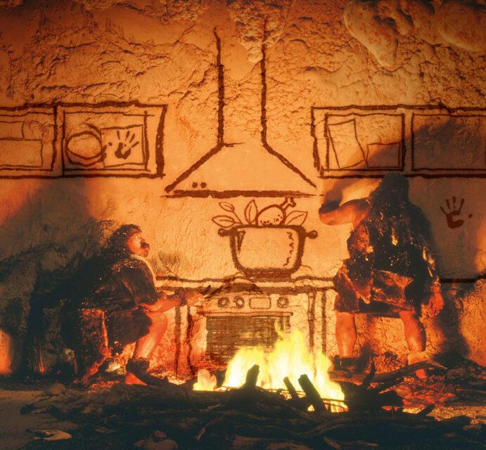 La cocina nos hizo humanos