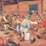 La comida medieval