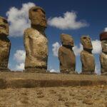 La estatuas de la Isla de Pascua están en peligro por el cambio climático
