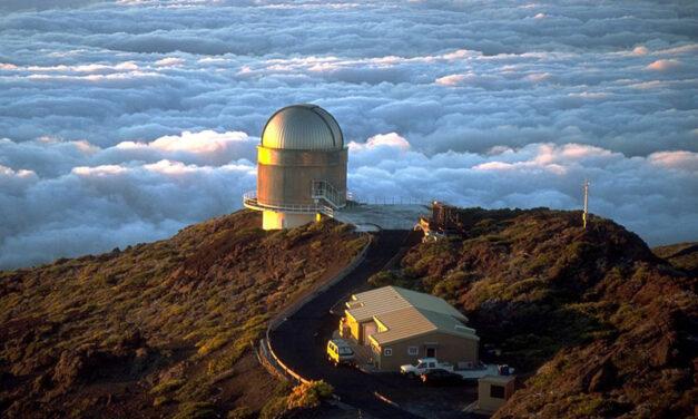 La isla donde se mira al Universo