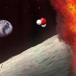 La Luna tiene agua en su interior