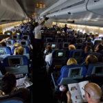 La posibilidad de que un pasajero con gripe contagie al resto del pasaje es muy baja