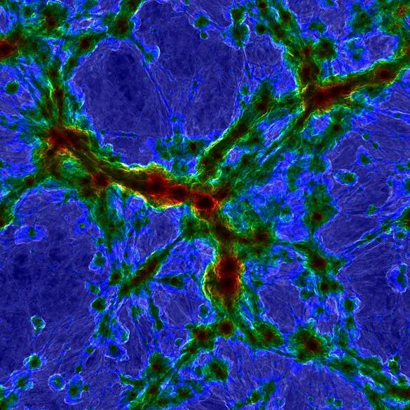 La simulación más grande del origen de una galaxia