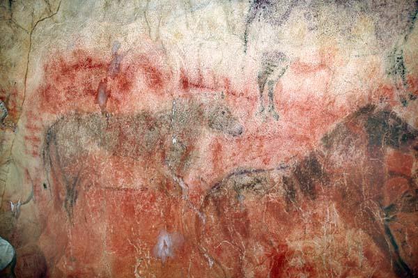 La 1ª pintura rupestre de España