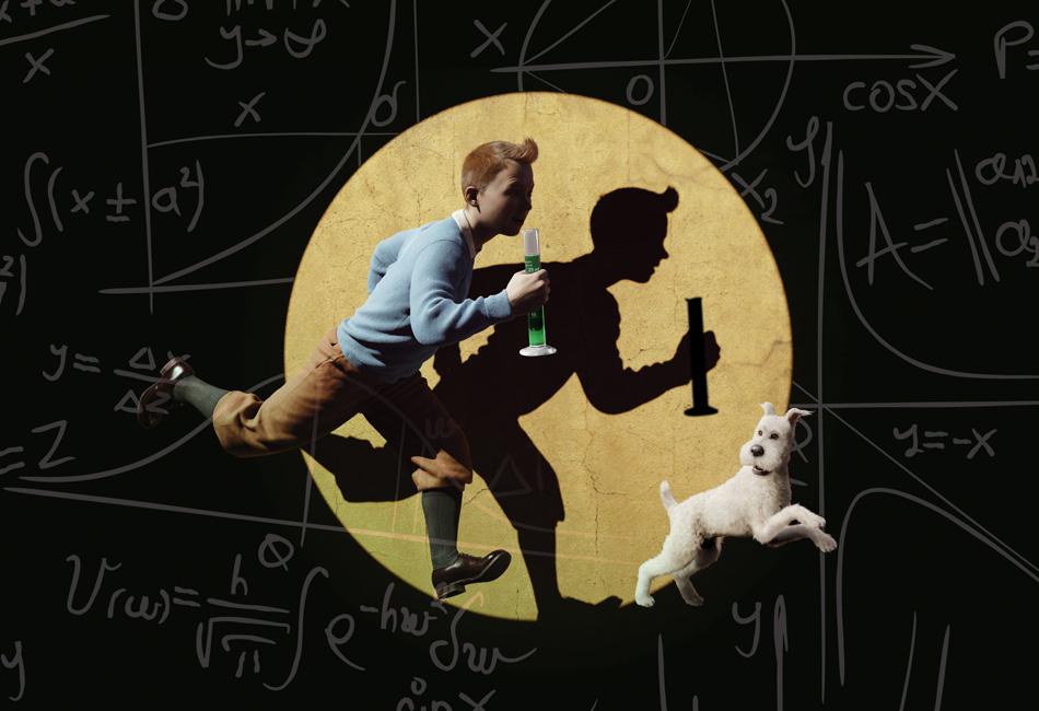 La ciencia según Tintín