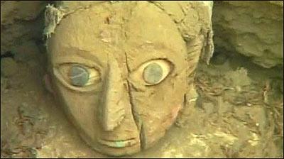 La momia de ojos azules