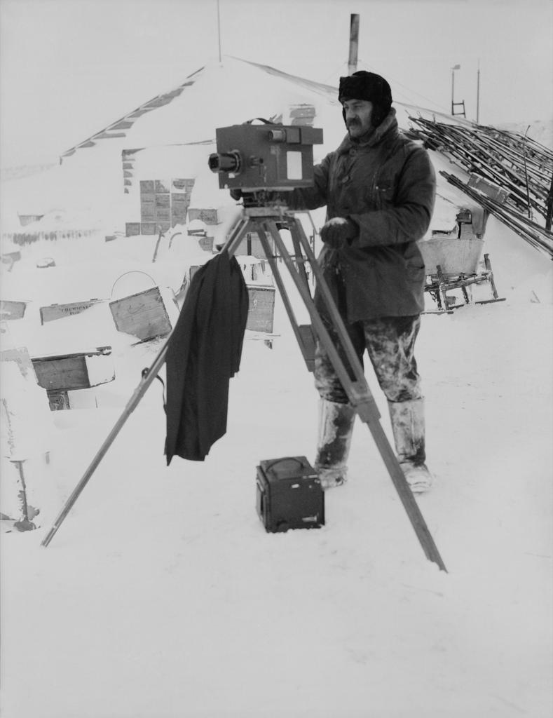 Las fotos de la trágica expedición polar del capitán Scott