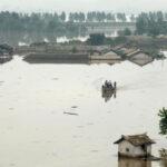 Las inundaciones provocan decenas de muertos en Corea del Norte