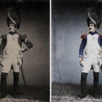 Las únicas fotos existentes de los soldados de Napoleón